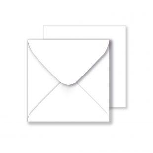 Square Envelopes 130gsm - White (130mm x 130mm)