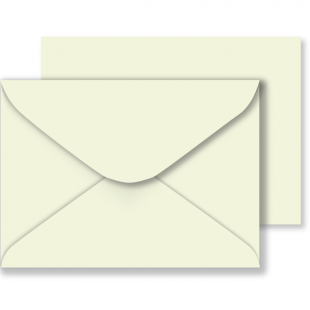 Ivory Envelopes 100gsm  (133mm x 184mm)
