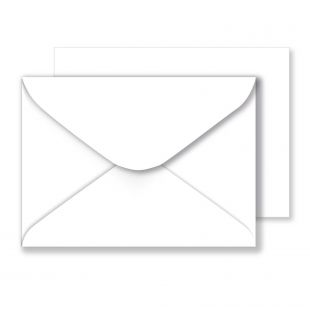 White Envelopes 130gsm (133mm x 184mm)