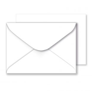 White Envelopes 100gsm (133mm x 184mm)