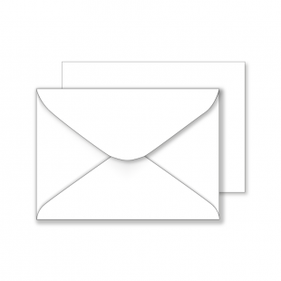 Essentials White Envelopes- 133mm x 185mm