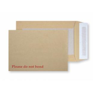 C4  Manilla Board Backed Envelopes Peel & Seal (324x229mm)