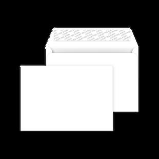 C6 Peel and Seal Envelope - Ice White