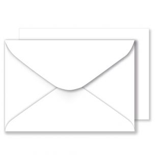 White Envelopes (152 x 216mm)