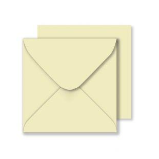 Square Envelopes - Cream (155mm x 155mm)