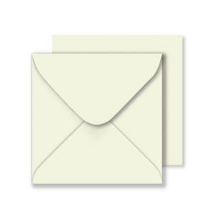 Square Ivory Envelopes (155mm x 155mm)