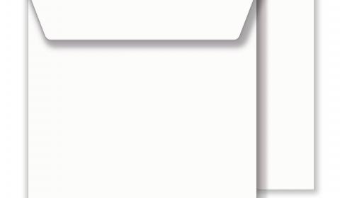 Square White Envelopes 100gsm (159mm x 159mm)