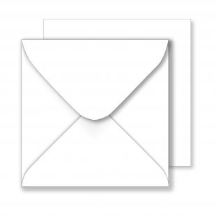 Essentials Square  White Envelopes - 160mm x 160mm