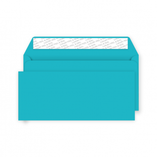 DL Peel and Seal Envelope - Cocktail Blue