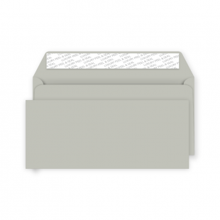 DL Peel and Seal Envelope - French Grey