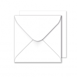 1,000 Wholesale Square White Envelopes 100gsm (220mm x 220mm)