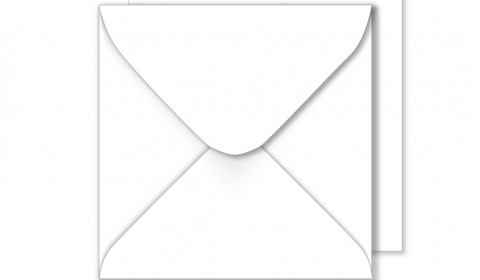 1,000 Wholesale Square White Envelopes 100gsm (220mm x 220mm)