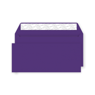 DL Peel and Seal Envelope - Blackcurrant