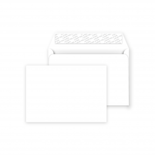 C5 Peel and Seal Envelopes - Ice White