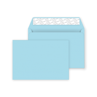 C5 Peel and Seal Envelope - Cotton Blue