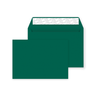 C5 Peel and Seal Envelopes - British Racing Green