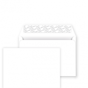 Papermilldirect C5 Peel and Seal Envelope - Ice White