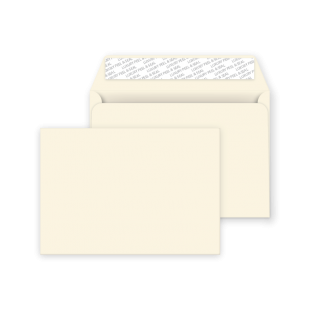 C5 Peel and Seal Envelopes - Soft Ivory