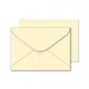"5"" x 7"" Vanilla Envelopes 130gsm (133mm x 184mm)"