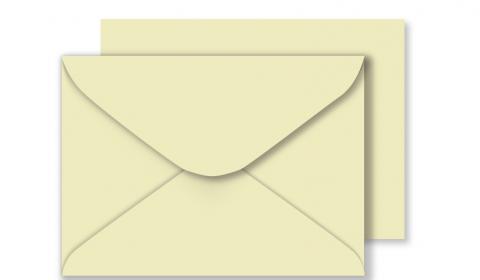 "5"" x 7"" Cream Envelopes 100gsm"