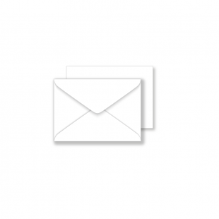 Essentials White Envelopes- 70mm x 100mm