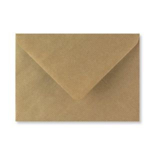 1,000 Wholesale Ribbed Kraft Envelopes 115gsm (133mm x 184mm)
