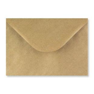 C5 Brown Ribbed Kraft Envelopes 100gsm
