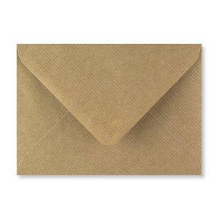 C6 Ribbed Kraft Envelopes
