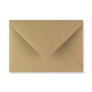 Fleck Kraft Envelopes 110gsm (133mm x 184mm)