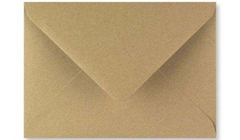 1,000 Wholesale Fleck Kraft Envelopes 110gsm (133mm x 184mm)