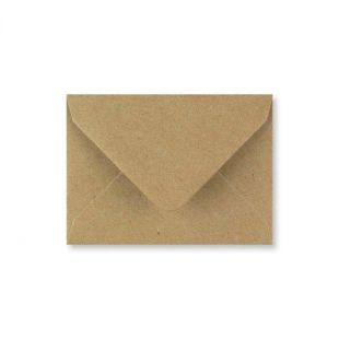 Fleck Kraft Envelopes (82mm x 113mm)