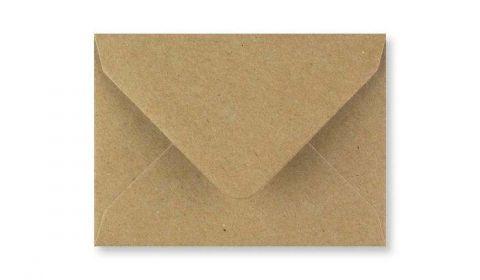 Fleck Kraft Envelopes (82mm x 113mm)