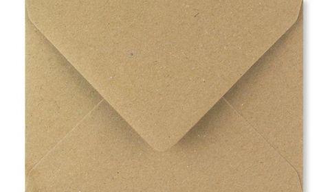 Fleck Kraft Envelopes (125mm x 175mm)