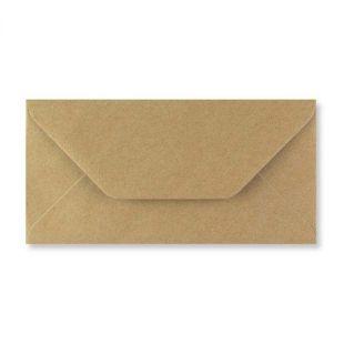 1,000 Wholesale DL Fleck Kraft Envelopes (110mm x 220mm)