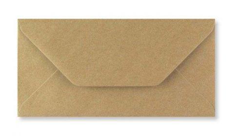 1,000 Wholesale DL Fleck Kraft Envelopes 110gsm (110mm x 220mm)