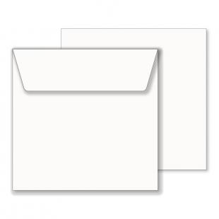 Essentials White Square Envelopes- 190mm x 190mm
