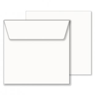 Essentials White Square Envelopes- 195mm x 195mm