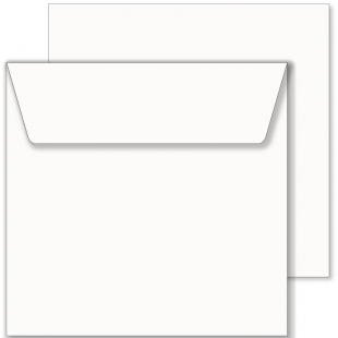 Essentials White Square Envelopes- 240mm x 240mm