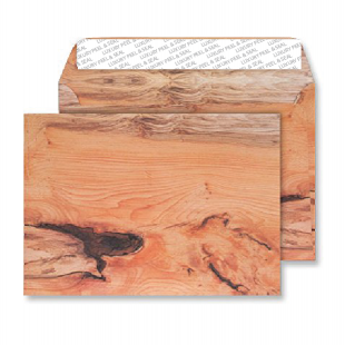 C5 Peel and Seal Envelopes - Planed Yew