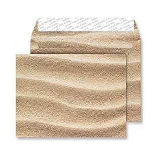 C5 Peel and Seal Envelopes - Sahara Sand