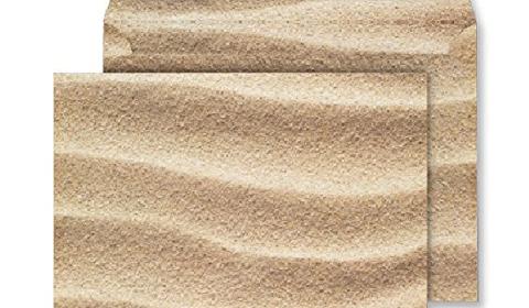 C5 Peel and Seal Envelopes - Sahara Sand