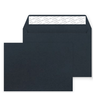 C5 Peel and Seal Envelopes - Pearlescent Midnight Blue