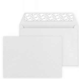 C5 Peel and Seal Envelope - Pearlescent Moonshine Silver