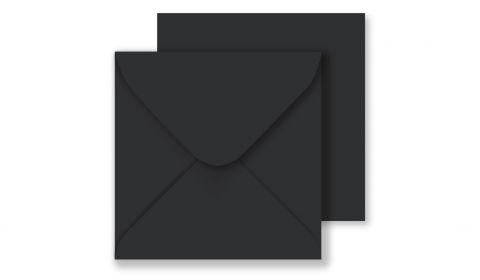 Square Black Envelopes (130mmx 130mm)