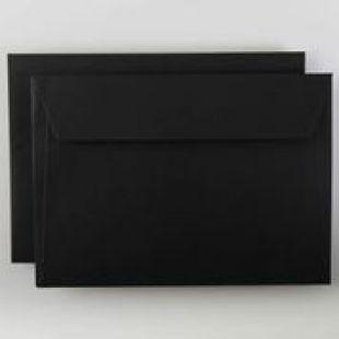 Luxury C5 Envelopes - Colours Black