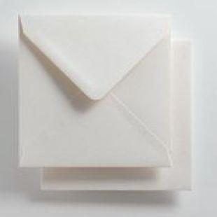 Luxury Square Envelopes - Essentials Brilliant White