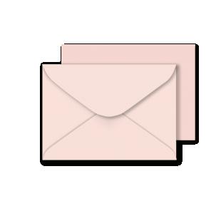 "5""x7"" Sirio Colour Nude Envelopes 115gsm"