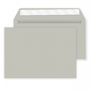 C5 French Grey Peel and Seal Envelopes 120gsm (162mm x 229mm)