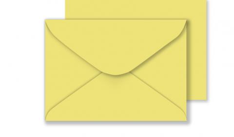 C5 Woodstock Giallo Envelopes 110gsm (162mm x 229mm)