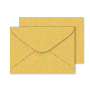 C5 Gold Sirio Pearl Envelopes 125gsm